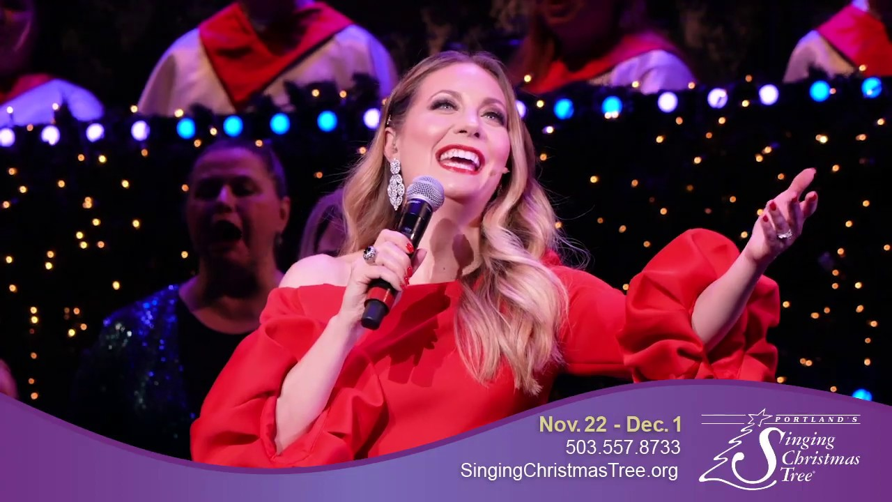 Portland's Singing Christmas Tree 2019 - YouTube