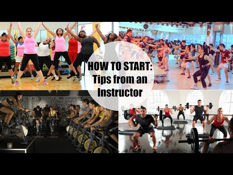 How to start taking Group Exercise Classes | Tips for Beginners from an Instructor | CookieMiller