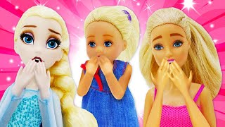Barbie baby doll videos: Play toys and dolls