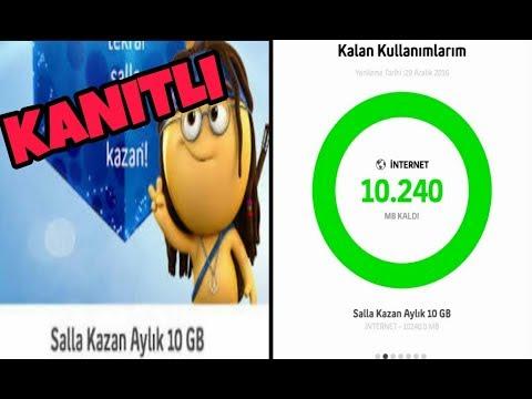 SALLA KAZAN 10GB HILESI 100% GERCEK 2018