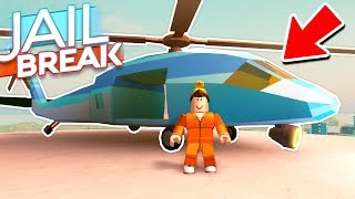 BUYING THE 1MIL HELICOPTER in JAILBREAK UPDATE! (Roblox Jailbreak)