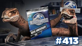 Raptors In the Kitchen Cookin' up Packs!!! | Jurassic World - The Game - Ep413 HD