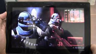 nvidia tegra 3 gaming performance and demos project kal el