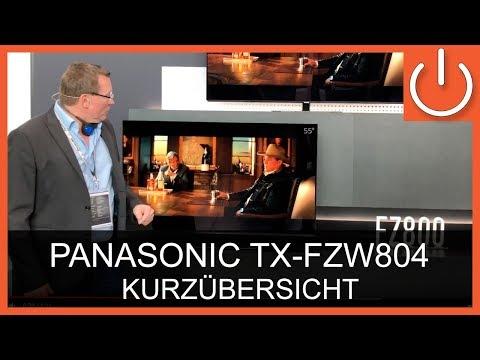 panasonic tx 55fzw804 55 uhd hdr 10 120hz quattro. Black Bedroom Furniture Sets. Home Design Ideas