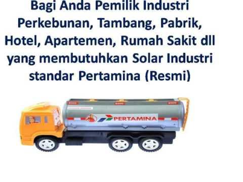 Jual Solar Industri Pertamina HP 081330680255