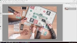 Настройка панели инструментов в Photoshop CC 2018