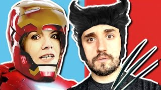 HOMEM DE FERRO OU WOLVERINE? - Either (Would you Rather...)