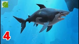 Hungry Shark Heroes | Great White Shark and Black Dogfish - Android Gameplay FHD Part 4