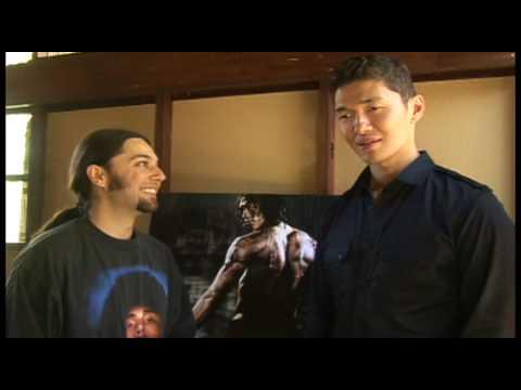 Ninja Assassin  with Rick Yune