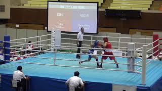 2017年 ボクシング  金城 隼平×高 優一郎 フライ級 2回戦