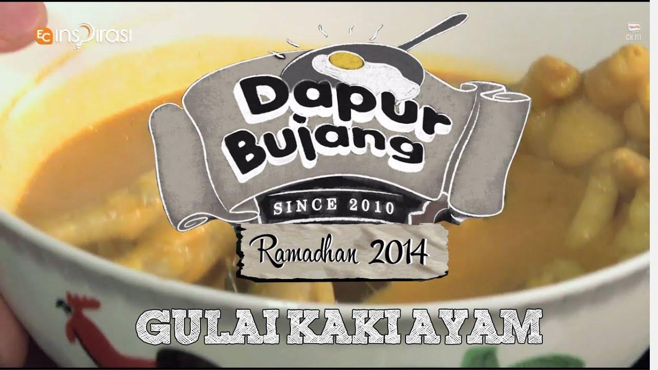 Dapurbujang Ramadhan Gulai Kaki Ayam