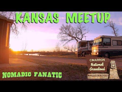 Camping With Friends @ Kansas Cimarron Grasslands