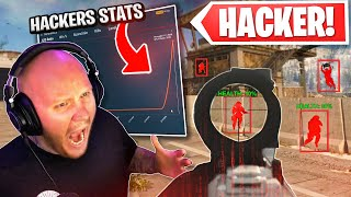 WE CAUGHT A HACKER TRYING TO HIDE IT!! WE LOOKED AT HIS STATS AND CONFRONTED HIM!