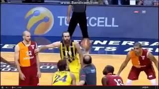 Fenerbahçe Ülker vs Galatasaray Odeabank (93-79) Özet Türkiye Basketbol Ligi Playoff Yarı Final