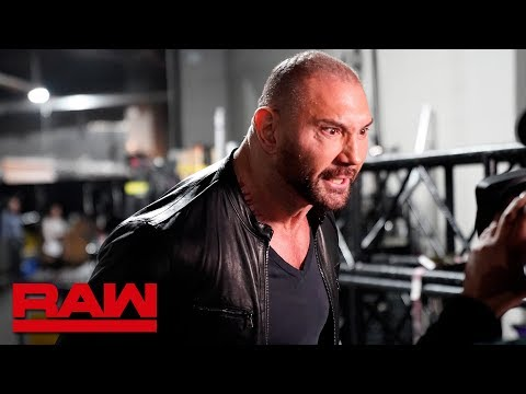 Batista attacks Ric Flair to send a message to Triple H: Raw, Feb. 25, 2019