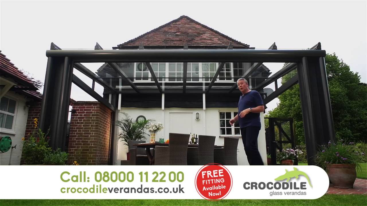 Crocodile Glass Verandas Tv Advert Youtube