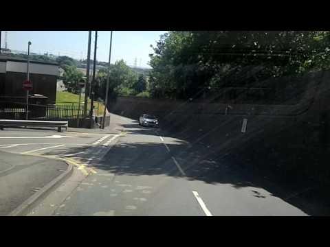 Mercedes. Shit driver crosses white line. Bellevue Lane Newport.