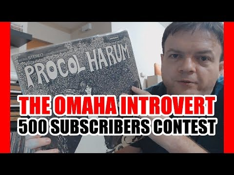 The Omaha Introvert 500 Subscribers Contest - Vinyl Community