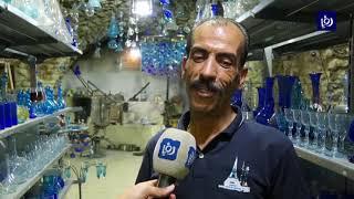 صناعة الزجاج .. حرفة تقليدية في مدينة الخليل - (13-4-2018)