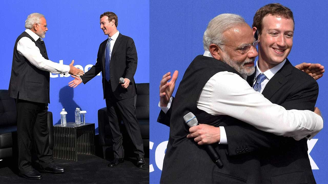 Mark Zuckerberg Got 250 Hand Sanitizers After Meeting Pm Modi