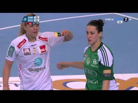 Kézilabda (Handball) Női BL Larvik vs Győr 2013. 02. 16. 720p HDTV x264 HUN