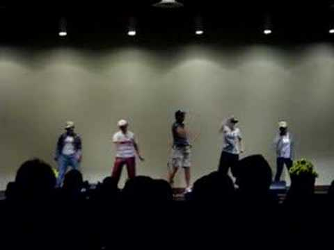 "Dinner and a Show: 12th Grade ""Boys"" as N'Sync"