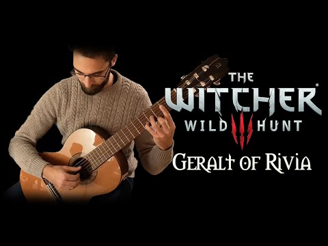 Geralt of Rivia (Main Theme) - The Witcher 3: Wild Hunt on Guitar thumbnail