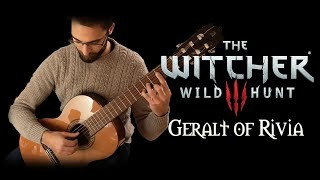 geralt of rivia (main theme) - the witcher 3: wild hunt on guitar