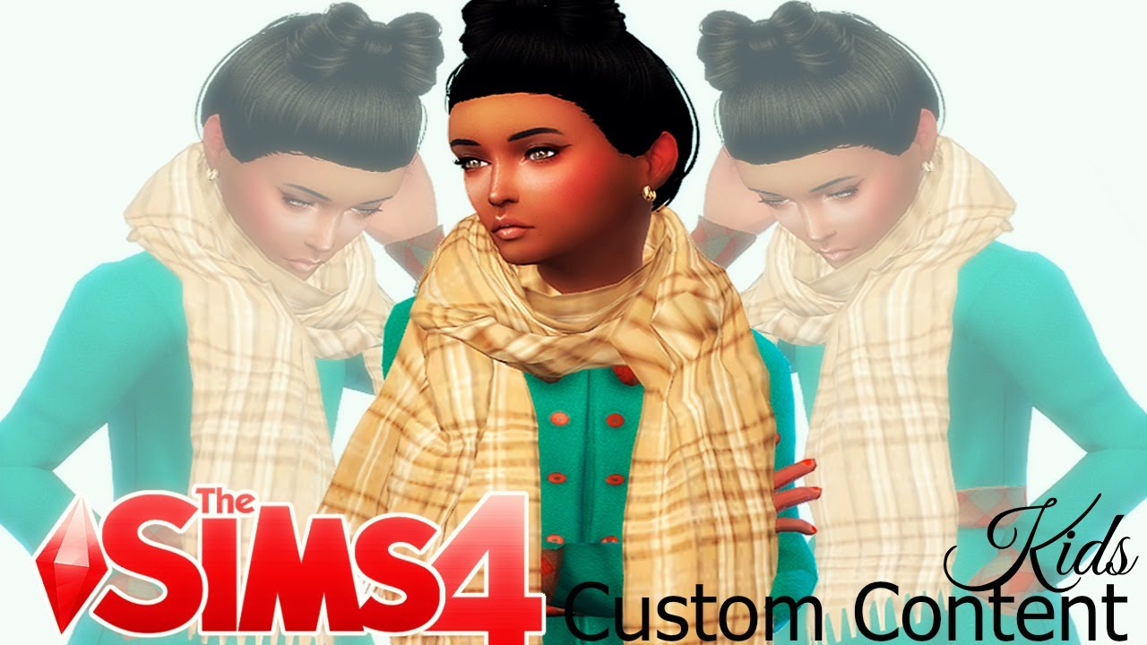 Sims Custom Content Kids Girls