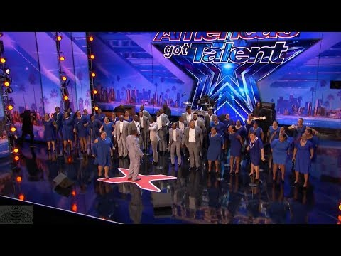 America's Got Talent 2017 Danell Daymon & Greater Works Just The Intro & Comments S12E04