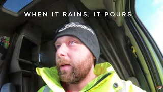 My Trucking Life | WHEN IT RAINS, IT POURS! | #1953