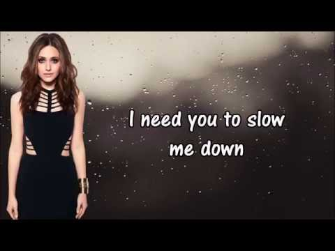 Emmy Rossum - Slow Me Down [Lyrics] HD