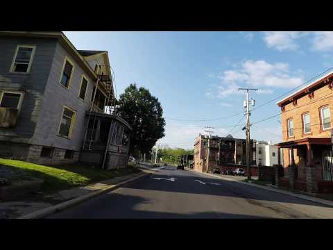 Seneca Falls to Syracuse Upstate New York Country Road 4K