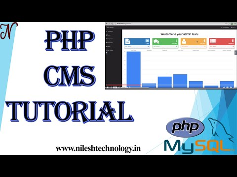 #1. CMS Project Tutorial   PHP And MySQL   CMS Blog Application   2020