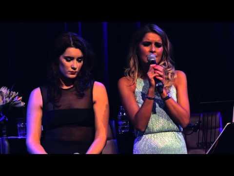 Lucie Jones and Gemma Oaten sing Scott Alan's 'Always/Goodnight' at Hippodrome