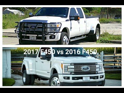 2017 F450 Platinum VS My 2016 F450 Platinum! Which is better?