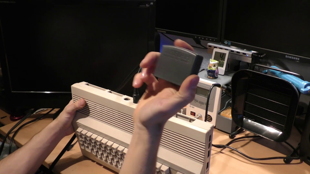 C64 Reloaded MK2 Einbau in C64C, Bestückung und MSSIAH Test