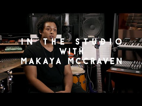 Play Sample Record: In the studio with Makaya McCraven