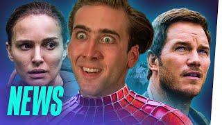 NICOLAS CAGE spielt SPIDER-MAN / JURASSIC WORLD 2: Voller Erfolg / NETFLIX: größter Filmproduzent