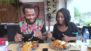 TASTY GHANAIAN FOOD MUKBANG | WHY WE ARE LEAVING