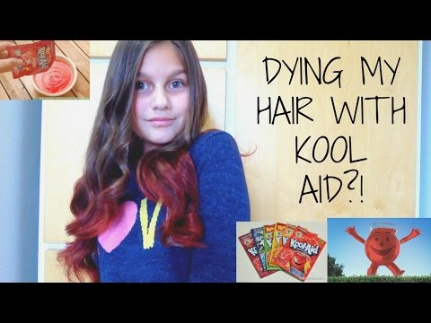 How To Dye Your Hair with Kool Aid! | ItsCansu
