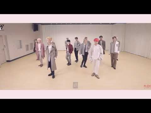 Seventeen - Don't wanna cry + Without You + Clap (Dance Practice)