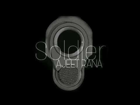 SOLDIER   AJEET RANA   OFFICIAL AUDIO   EMINEM   SOLDIER   DESI RIFIX   2017