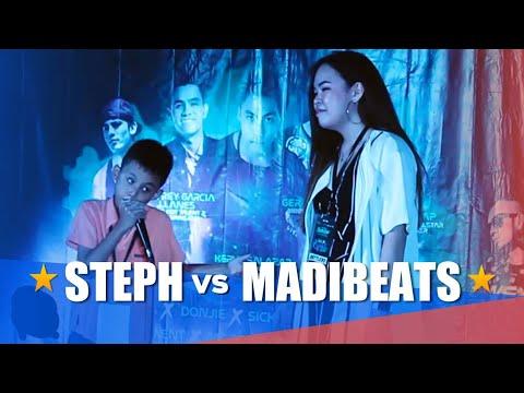Philippine Beatbox Battle   STEPH vs MADIBEATS   Top 16
