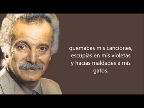 Georges Brassens  -Putain de toi-  (So Puta) Subtitulado al castellano.