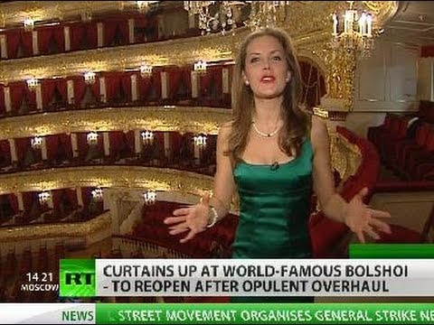 RT inside Bolshoi Theater after $700-million overhaul