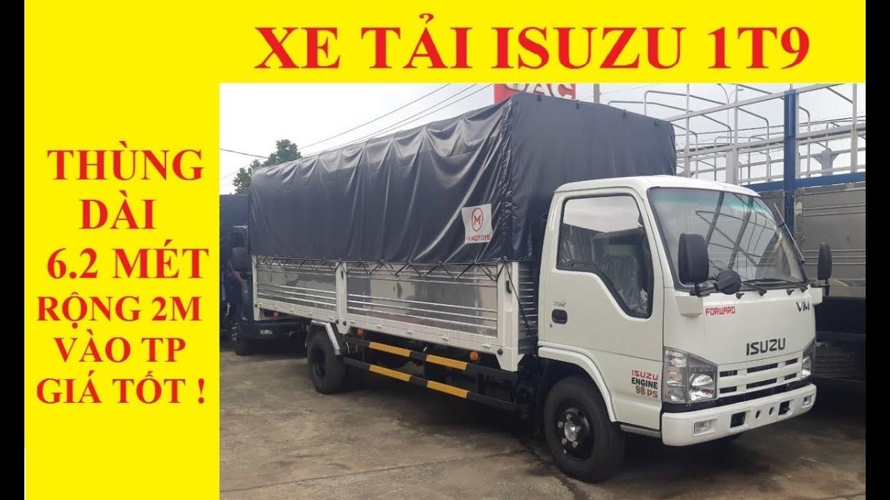 Giá Bán Xe Isuzu 1T9/ isuzu 1,9 tấn/ isuzu 1t9 VM Mới Nhất 2019