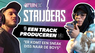 YOUSSEF wordt VERNEDERD in een disstrack   FunX Strijders   Track Produceren   Seizoen 2, Afl. 6