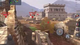 Wot Blitz Mk1 heavy tank gameplay