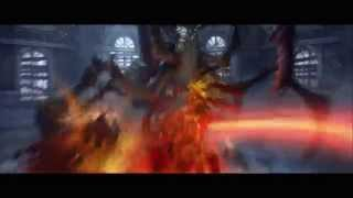 Darksiders Hellbook A World in Ruins [HD] video game trailer Xbox 360 PS3 release Jan 2010
